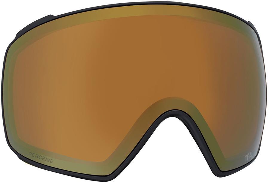 Anon M4 Toric Ski/Snowboard Goggle Spare Lens, Perceive Sun Bronze