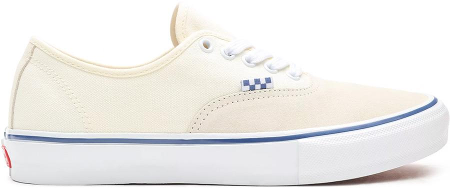 Vans Skate Authentic Trainers/Shoes, UK 7 Off White