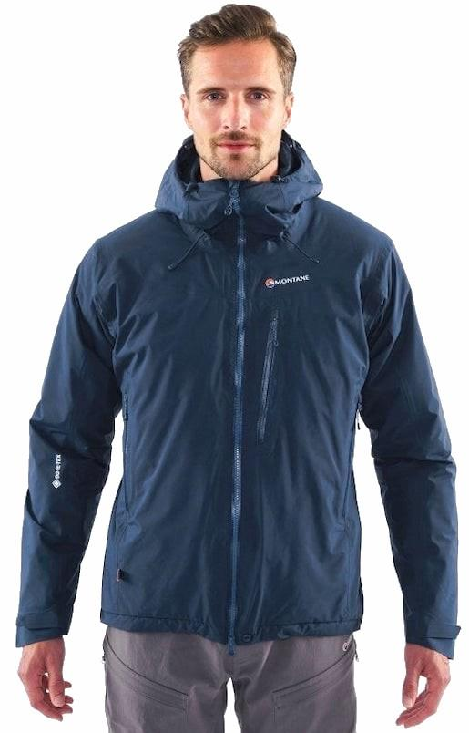 Montane Duality Gore-Tex Insulated Hiking Jacket M Astro Blue