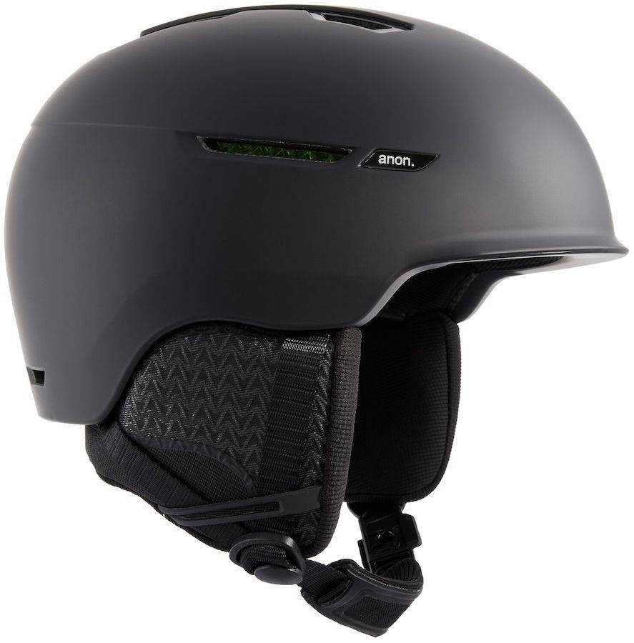 Anon Logan In-Mold WaveCel® Ski/Snowboard Helmet, XL Black