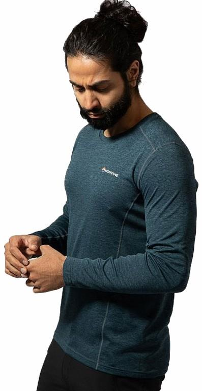 Montane Adult Unisex Dart Technical Base Layer Top, S Orion Blue