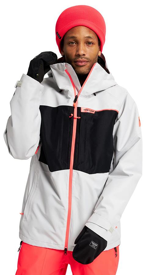Burton Pillowline GORE-TEX 2L Snowboard & Ski Jacket, M Lunar Grey
