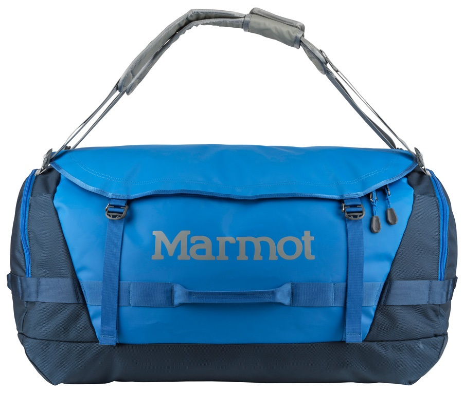 Marmot Long Hauler Duffel Travel Bag - 105L, Peak Blue / Vintage Navy