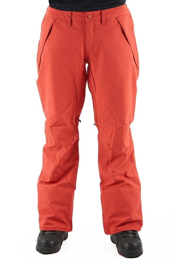 Burton Society Women's Snowboard/Ski Pants, M Hot Sauce