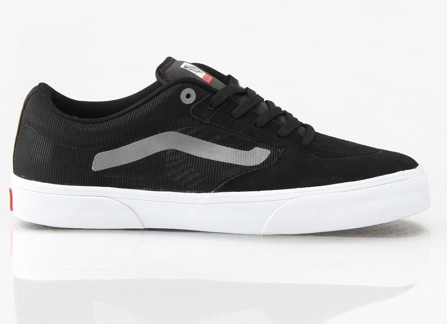 Vans Rowley Pro Lite Skate Shoe, UK 7, Black