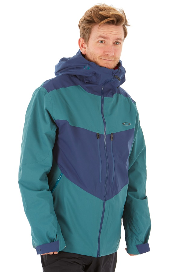 Oakley Razorback 2.0 Insulated Snowboard/Ski Jacket, S Poseidon