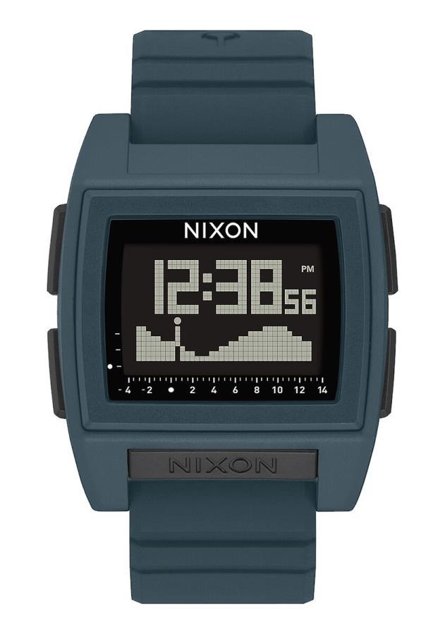 Nixon Base Tide Pro Men's Digital Watch, Dark Slate