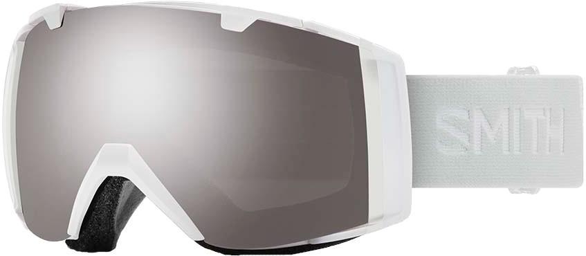 Smith I/O CP Sun Platnium Snowboard/Ski Goggles, M/L White Vapor