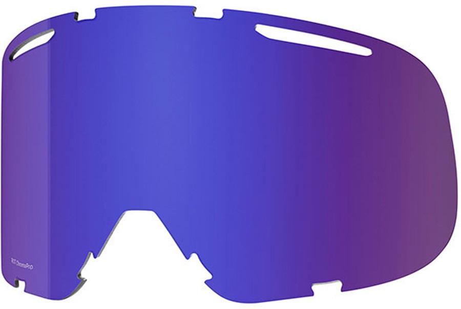 Smith Riot Snowboard/Ski Goggles Spare Lens, Chromapop Everyday Violet