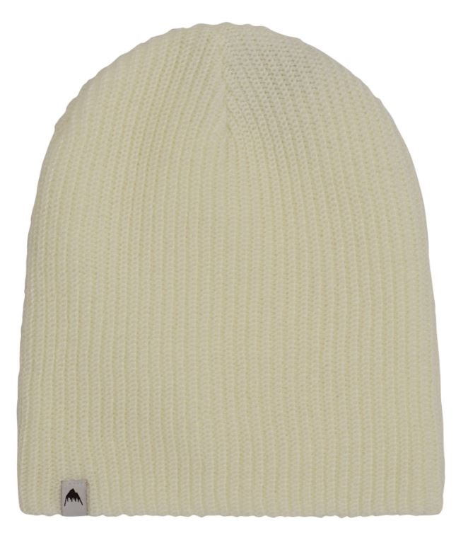 Burton Adult Unisex All Day Long Slouch Ski/Snowboard Beanie, One Size Stout White