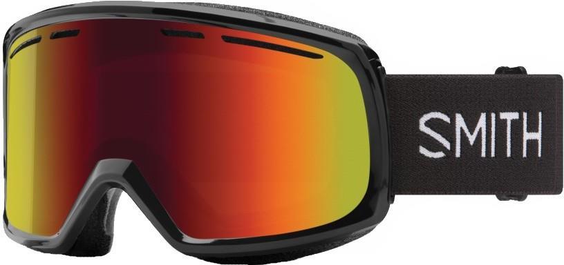 Smith Range Red Sol-X Mirror Snowboard/Ski Goggles L Black