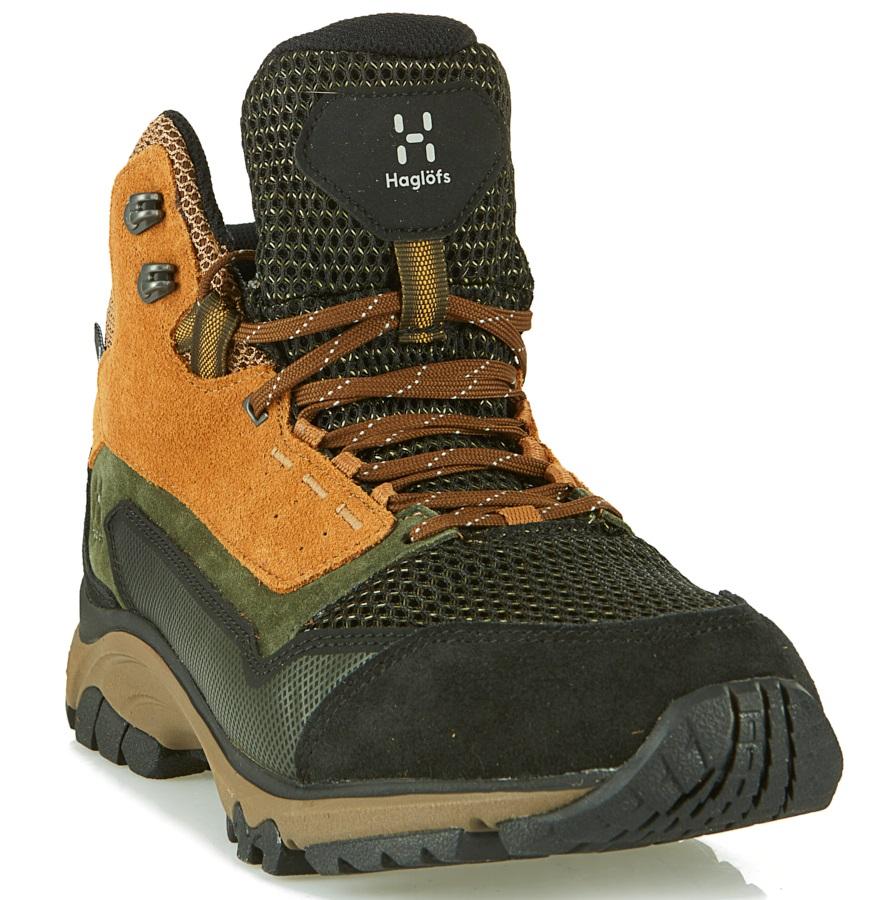 Haglofs Skuta Mid Proof Eco Men's Hiking Boots, UK 9 Oak/Deep Woods