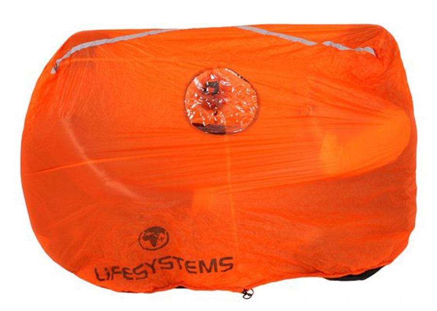 Lifesystems Survival Shelter Emergency Protection 2 Man Orange
