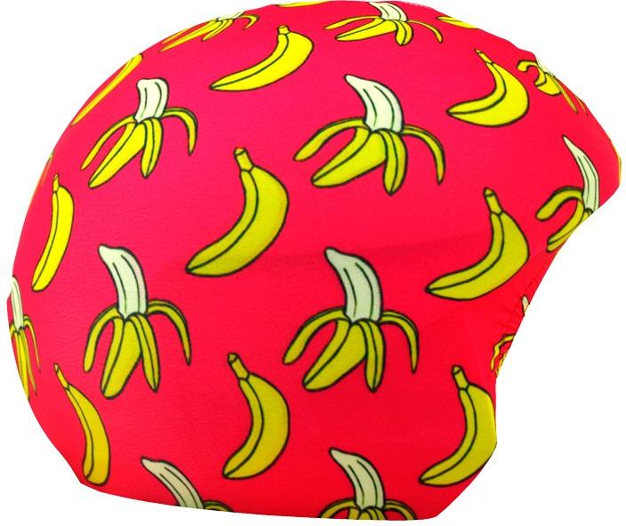 Coolcasc Printed Cool Ski/Snowboard Helmet Cover, Banana