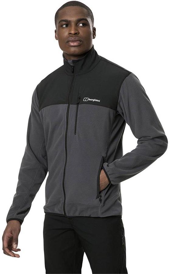 Berghaus Kyberg Full-Zip Polartec Thermal Fleece Jacket, S Grey