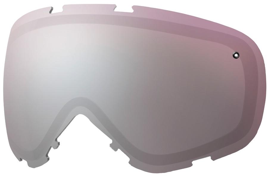 Smith Phenom Turbo Fan Snowboard/Ski Goggle Spare Lens, Ignitor Mirror