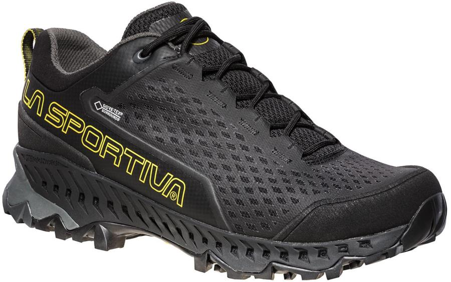 La Sportiva Spire GTX Approach Shoes, UK 9.5 / EU 44 Black/Yellow