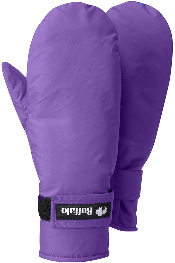 Buffalo Mitts Pile Lined Mittens S Purple