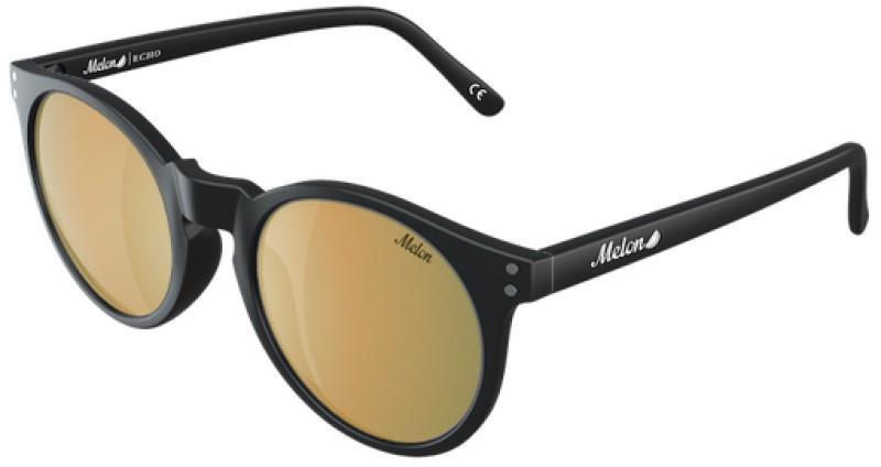 Melon Echo Gold Chrome Polarized Sunglasses, M 24K