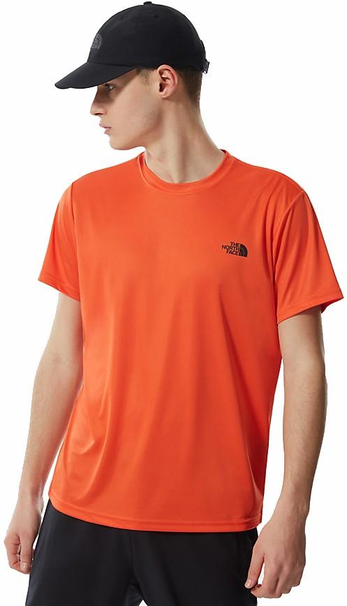 The North Face Reaxion Amp Crew T-Shirt, M Flame