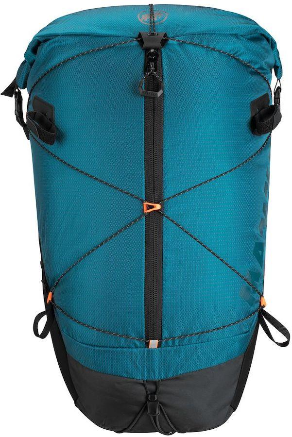Mammut Ducan Spine 28-35 Hiking Backpack, 28-35L Sapphire/Back
