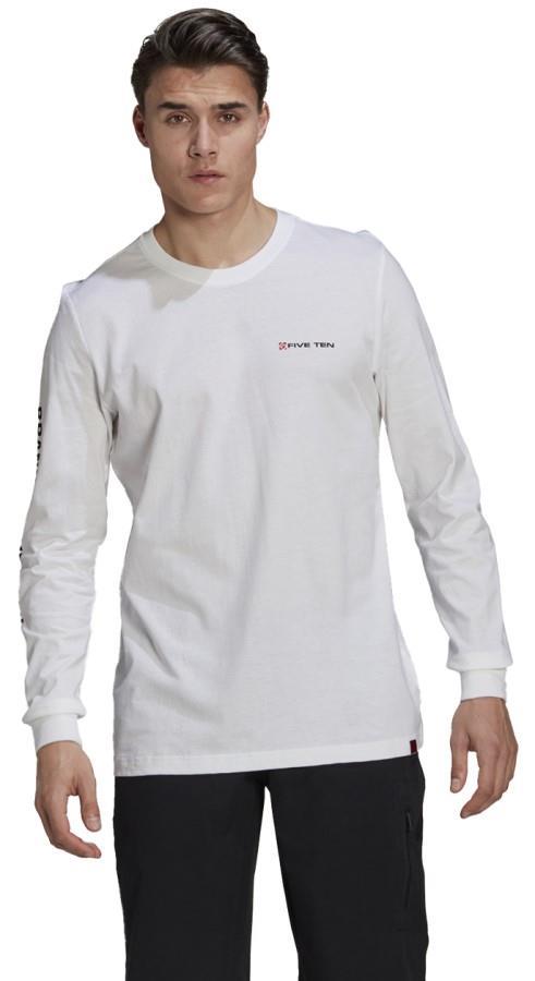 Adidas Five Ten GFX Long Sleeved T-shirt, M White