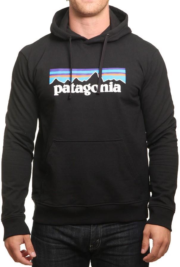 Patagonia Men's P-6 Logo Uprisal Hoody, S Black