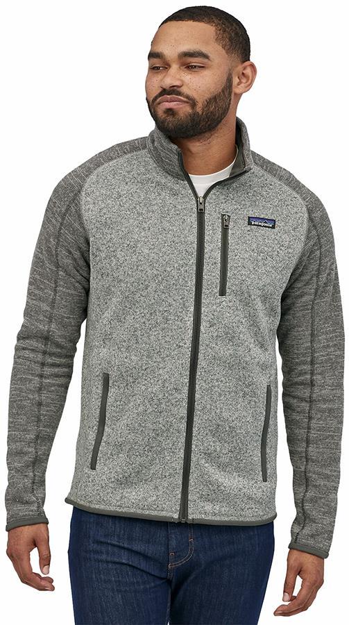 Patagonia Better Sweater Full Zip Fleece Jacket, L Nickel/Forge