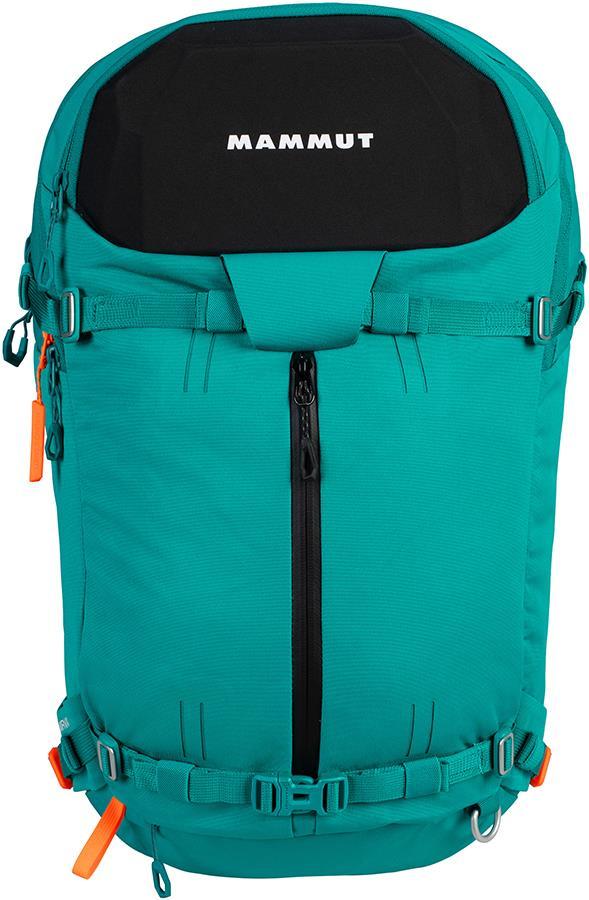 Mammut Nirvana 35 Freeride Ski Backpack, 35L Dark Ceramic/Black