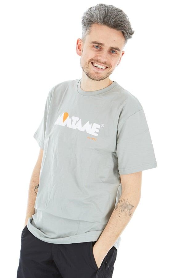 Montane Adult Unisex 1993 Heritage Organic Cotton Crew T-Shirt, Xl Grey Marl