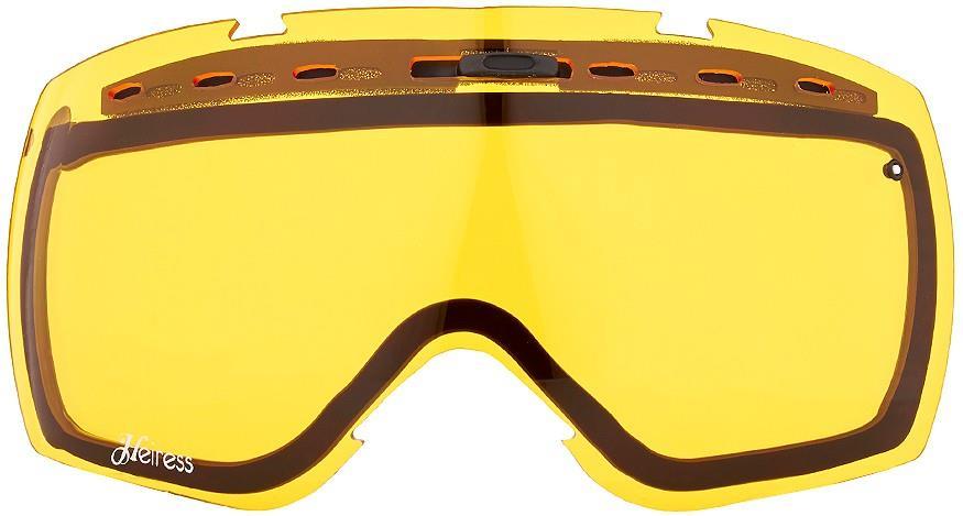 Smith Heiress Snowboard/Ski Goggle Spare Lens, One Size, Yellow Sensor