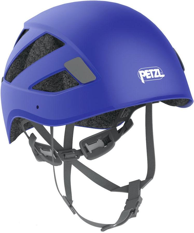 Petzl Adult Unisex Boreo Via Ferrata/Rock Climbing Helmet, S/M Blue