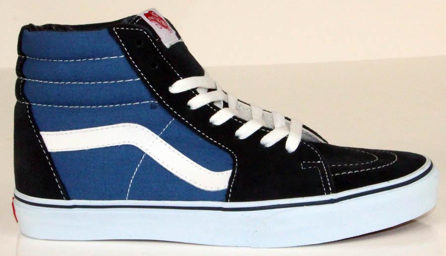 Vans Sk8-Hi Skate Trainers/Shoes UK 7 Navy