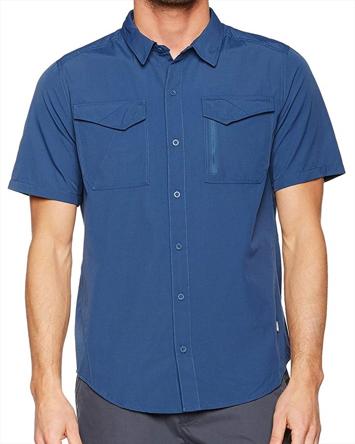 The North Face Sequoia Short Sleeved Shirt, S Shady Blue