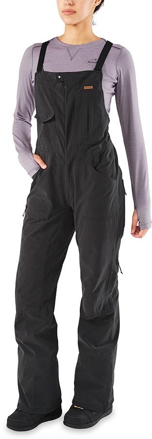 Dakine Brentwood Bib Women's Ski/Snowboard Pants, S Black