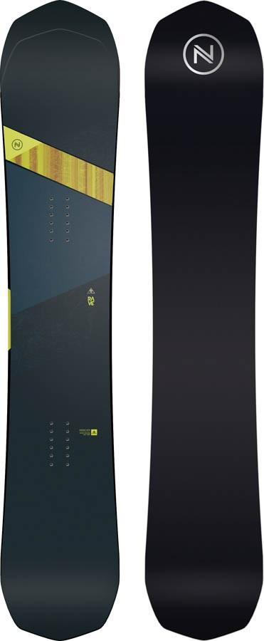 Nidecker Rave Positive Camber Snowboard, 156cm 2020