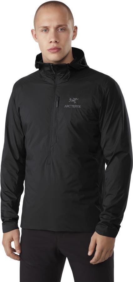Arcteryx Atom SL Anorak Insulated Mid Layer Jacket, XL Black