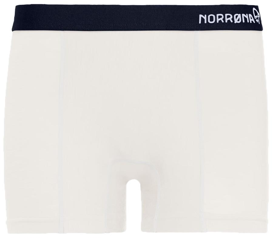 Norrona Wool Women's Boxer Briefs, UK 12 Whisper White