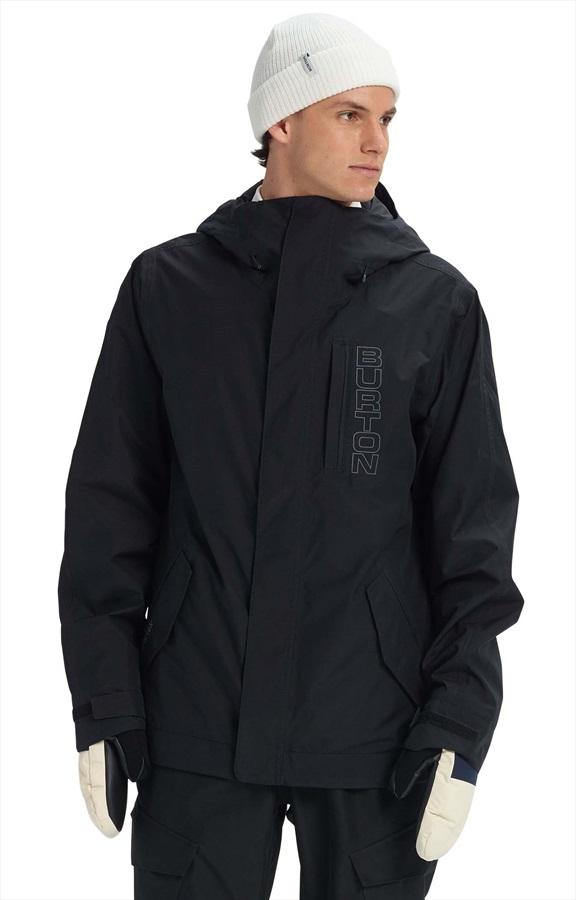 Burton Doppler Gore-Tex Snowboard/Ski Jacket, M True Black