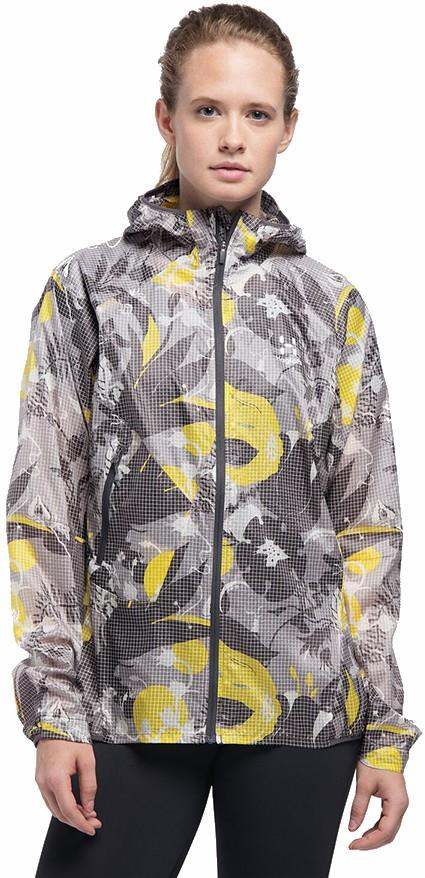 Haglofs Womens L.I.M Shield Comp Kurbits Hood Women's Shell Jacket, S Kurbits