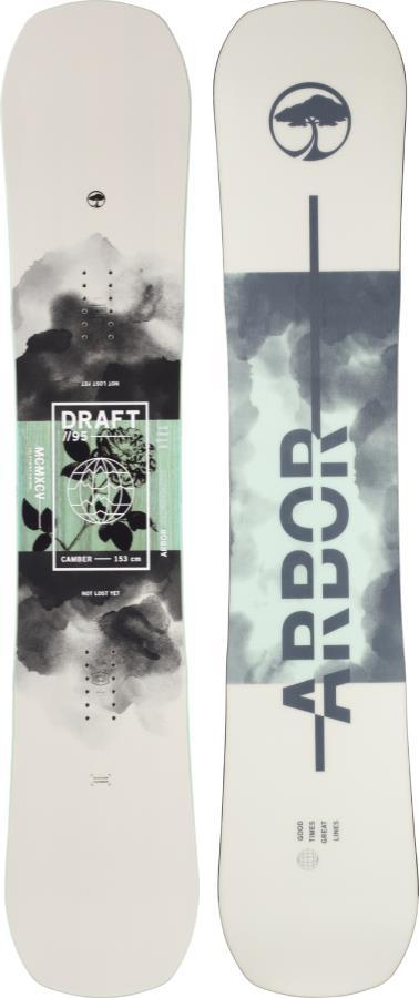 Arbor Draft Camber Snowboard, 154cm MW 2021