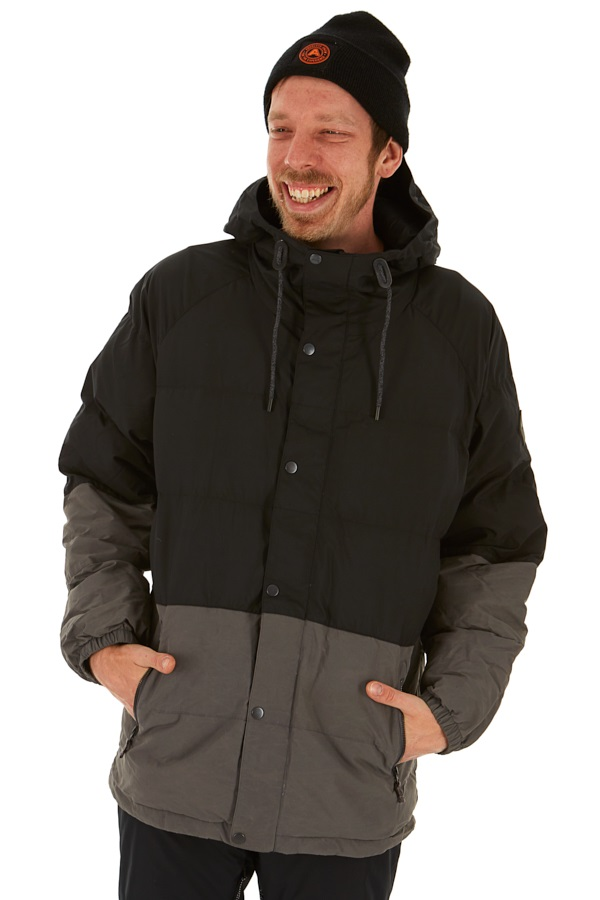 Burton Traverse Synthetic Down Jacket, L True Black/Faded
