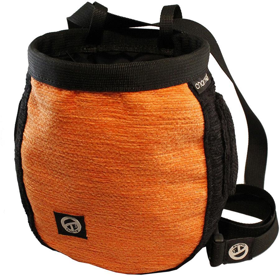 Charko Armadillo Rock Climbing Chalk Bag Orange