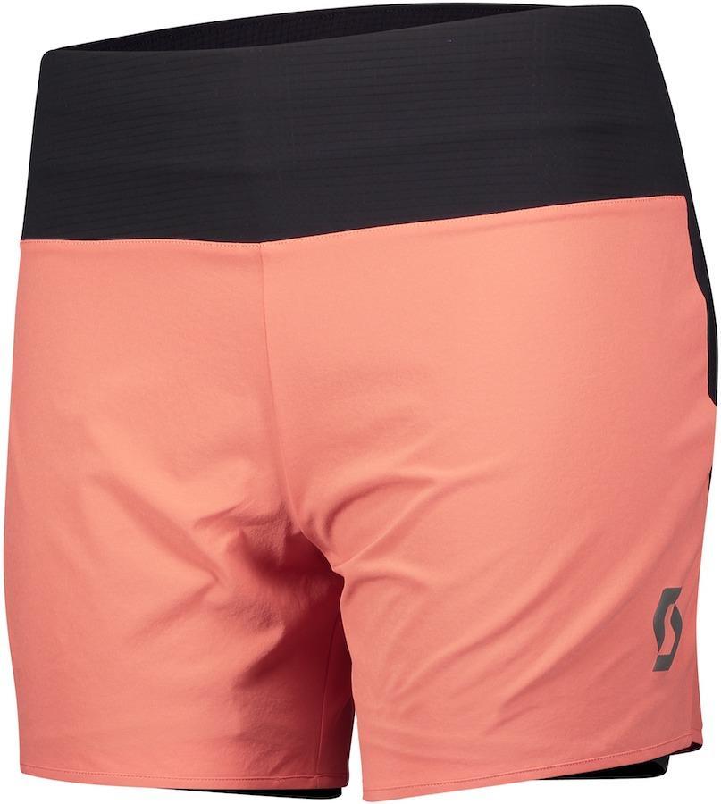 Scott Trail Run Women's DRYOxcell Running Shorts, UK 12-14 Brick Red