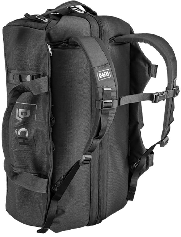 BACH Dr Duffel Travel Luggage Bag, 40L Black
