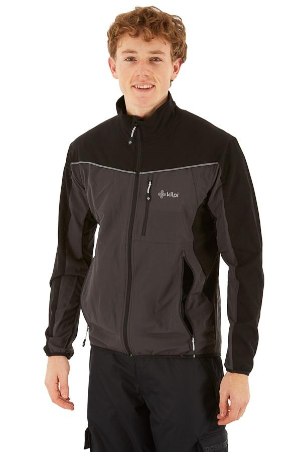Kilpi Bandit Jacket Men's Windproof Jacket L Black