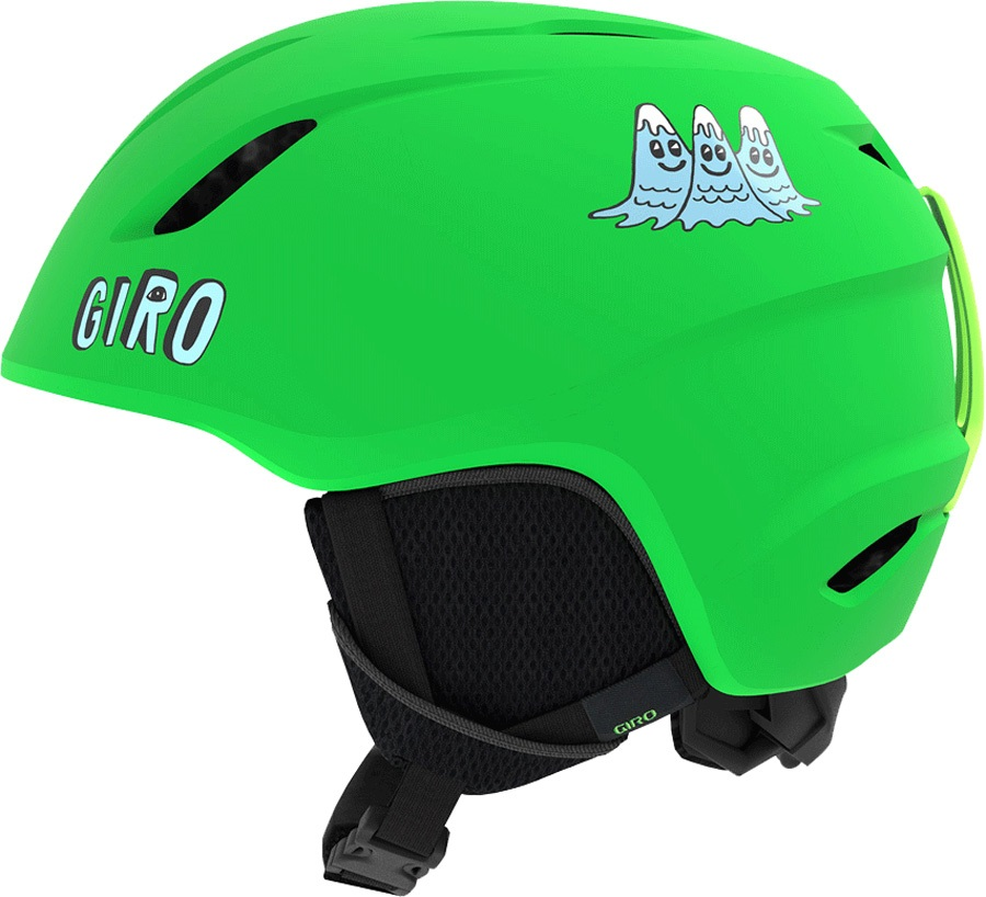 Giro Launch Kids Ski/Snowboard Helmet, S Bright Green Tagazoo