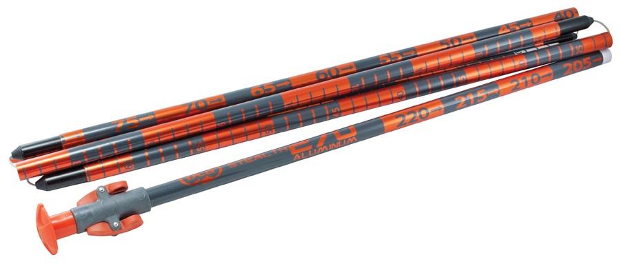 BCA Stealth Avalanche Safety Probe, 270cm Orange