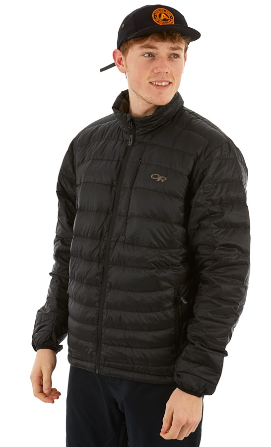 Outdoor Research Transcendent Down Sweater Insulated Jacket, S Black
