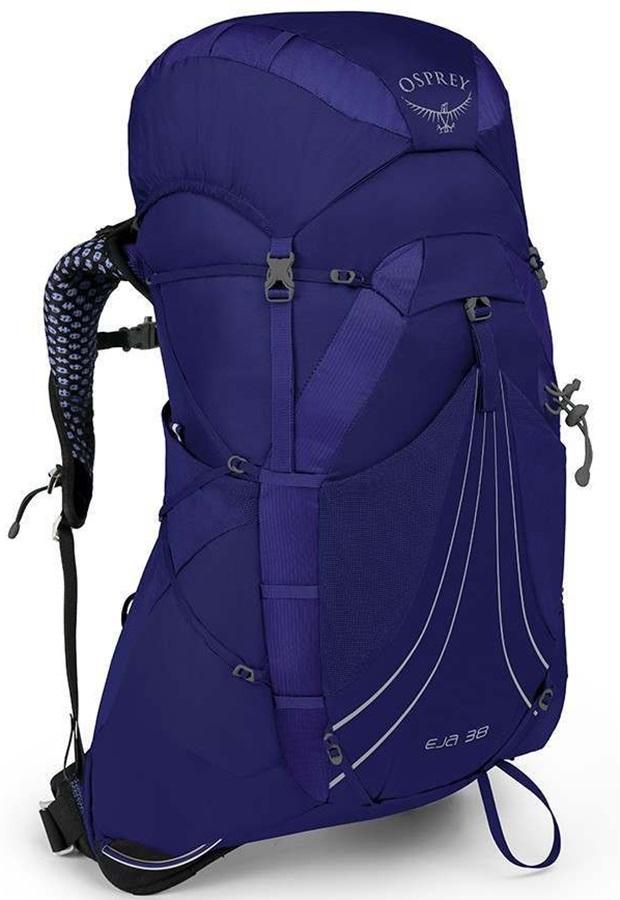 Osprey Eja 38 Medium Women's Light Backpacking Pack, 38L Equinox Blue